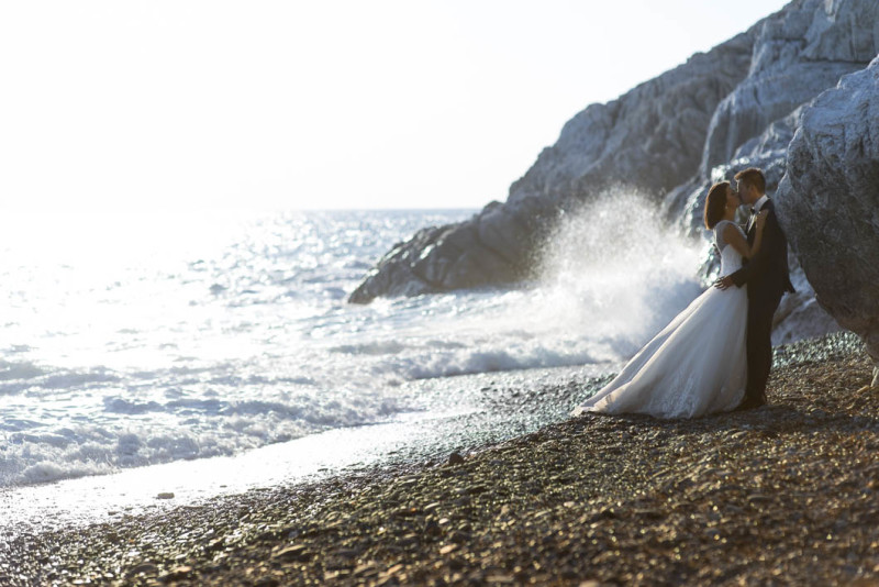 Claudia e Daniele | Trash the dress | Isola d'Elba
