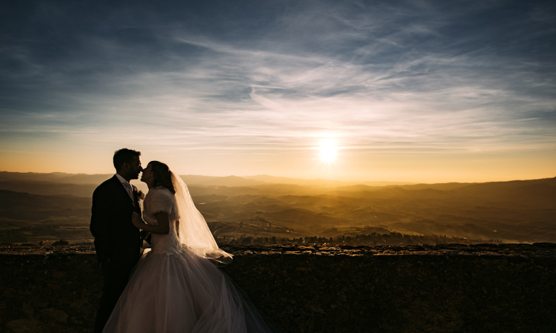Valentina & Darren | Matrimonio a Volterra | Tenuta Quadrifoglio